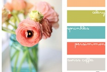 Color me Happy! / color palettes for inspiration... for art, fashion, the home, and more! / by Laura Johnson