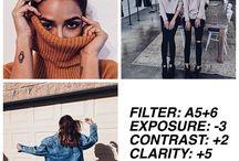 Selfie filters