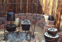 Dutch Oven & cast iron skillet cooking