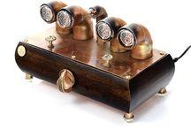 DIY Nixie Tube Clock / My production steampunk