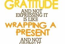 Dankbaarheid / Gratitude / Allemaal afbeeldingen over dankbaarheid.