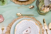 Wedding Inspiration:  Place settings