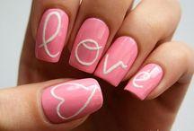 Nail Art - Valentijn / Ideeën en inspiratie voor nail art tijdens Valentijn.
