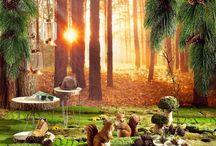 """Herbstdeko Trend 2016: """"Warm up"""" / Selten glüht die Natur so wie im Herbst. Die Farbenpracht der Blätter faszinierte uns schon als Kind und hat auch heute nichts von ihrer Kraft verloren. Farben wie Marsala, Kürbisorange, helles Holz in Kombination mit Metallicfarben bringen den Herbst zum Strahlen. Als ein farblich abgestimmter Strauß Dahlien in einer großen Vase sind diese Farben jetzt genau richtig."""