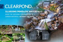 Pondless Water features / Pond less water falls and water features