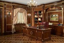 Klasik Ofis Dekorasyonları / Ofis dekorasyonları, Klasik Ofis Mobilyaları, classic office furniture, office interior design