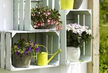 crafts for indoor and outdoor home / by Sweetness