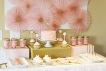 Festas/mesas decoradas