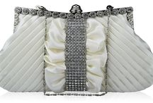 White & Ivory Bags / White is the colour of purity. White means kindness. White daisies are a symbol of loyal love. White & Ivory are the first choice colours for Brides & Bridesmaids.