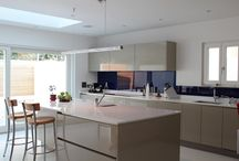 Dream Kitchens / A collection of the beautiful high quality kitchens that feature in dream homes, built by WeberHaus.