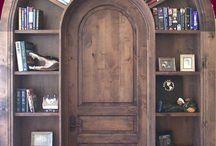 puertas biblioteca