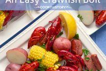 Crawfish goodness / by Melissa Toussaint-S