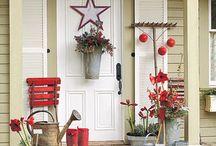 Entryway ideas / by Debbie Alix
