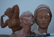 Dans l'Atelier de sculptures