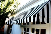 Awnings / Awnings are an essential, stylish addition to any home or garden. Our high quality, waterproof fabric will keep you protected, come rain or shine! / by Primrose