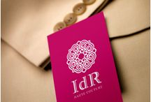 Lujo / Exclusividad / Alta costura / Joyas / Ejemplos de diseño de logotipos realizados en Logoestilo para productos considerados de lujo, como ropa exclusiva, joyería, bolsos y artículos de piel, etc...
