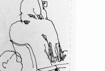 my sketches - school