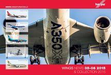 Catalogo Herpa 2015 / Catalogo de Herpa 2015 con mucho aviones a escala
