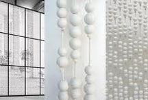 Ceramic curtain ideas