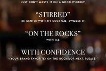 Spirits: Whisky, Whiskey, Bourbon, Scotch