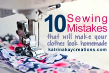 Tips & tricks in sewing
