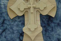 cruces en madera