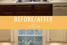 Tile Collection's Before & Afters / Before & afters inspiration for your next home project.