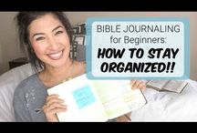Bible Journaling / I am starting on my journey into learning about Bible Journaling.  These are inspiration, tips and advice for beginners like me.