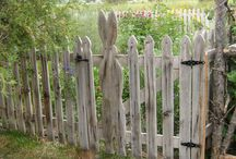 My picket fence! / by Susan Welch