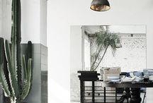 L i v i n g  w i t h  p l a n t s / Tips til innredning med planter i hjemmet. Ide og inspirasjon.