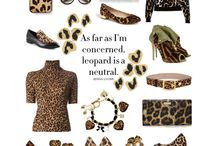 Leopard is a Neutral / by Susan Rains-Lowery