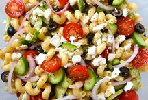 Pasta salad / by Ashley Anderson