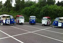 vespa tuktuk / Luxe italiaanse vespa tuktuks te huur bij My Tuk in Amersfoort ! Bel 033-4720334 of mail www.info@mytuk.nl