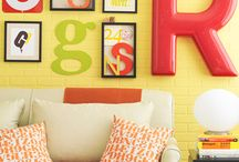 Simple Life | Creative Home / Colorful, inspiring, and uncluttered home spaces.