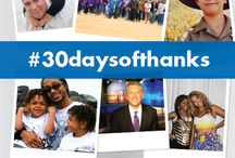 #30DaysOfThanks / At Make-A-Wish, we are thankful for so much. Join us over the next 30 days, as we thank those who help us grant wishes every single day.