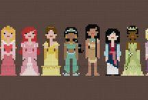 Pixel People  Storybook Princesses / Storybook Princesses