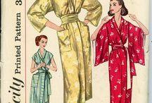 1950s vintage kimono