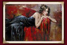 El arte y la belleza. / La belleza es digno de admirar