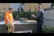 Roll-up Hot Tub Cover Videos / Many people find foam hot tub and spa covers very heavy and hard to use. For over 30 years Canadian Hot Tubs Inc. has been making roll-up replacement covers for most brands of acrylic spas, hot tubs, swim spas and inground hot tubs.