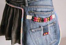 Recyklované džíny
