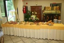I nostri buffet / L' hotel Nedy offre delizioni buffet di antipasti e verdure , per non parlare dei buffett allestiti per la serata Toscana