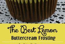 lemon butter cream frosting