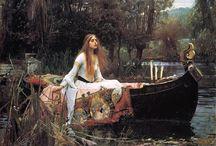 Джон Уильям Уотерхаус (1849 — 1917) / Джон Уильям Уотерхаус (1849 — 1917) английский художник, творчество которого относят к позднейшей стадии прерафаэлитизма. Известен своими женскими образами, которые заимствовал из мифологии и литературы.