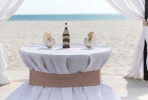 A Champagne Beach Wedding