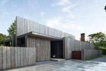 Domy jednodzinne - Materiał - Drewno