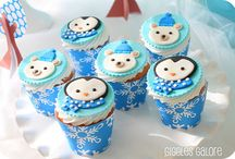 PARTY: Penguin & Polar Bear / Crafts, printables, recipes, and party decor for an EXTRAORDINARY Penguin & Polar Bear party!