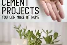 DIY: Cement Projects