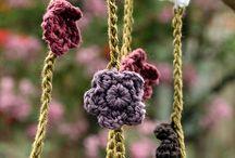 crochet flowers/leaves / by Jenny Fontenot