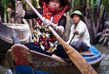 Vietnam / Photos of the people from Vietnam, oh yeah and some food and landscapes.