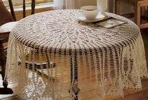 Crochet Table Cloth 2018